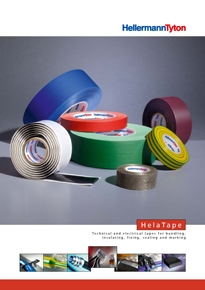Electrical tapes HelaTape brochure