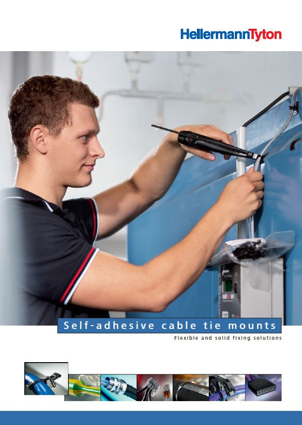 Brochure Self-adhesive cable tie mounts