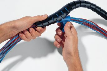 Helawrap HWPP flexible cable protection tubing