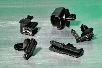 Connector Clips for round holes