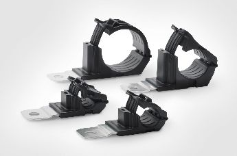 Ratchet P-Clamp reduce the number of clamps and clips in your inventory and is available in four sizes.
