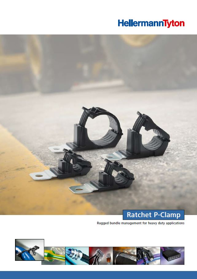 P Clamps For Mounting Wires Cables Hoses Pipes