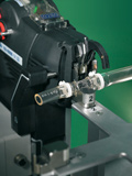 Automatic cable tie gun ATS3080 application in medical technology