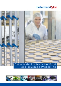 Detectable Products for Food and Beverage Processing