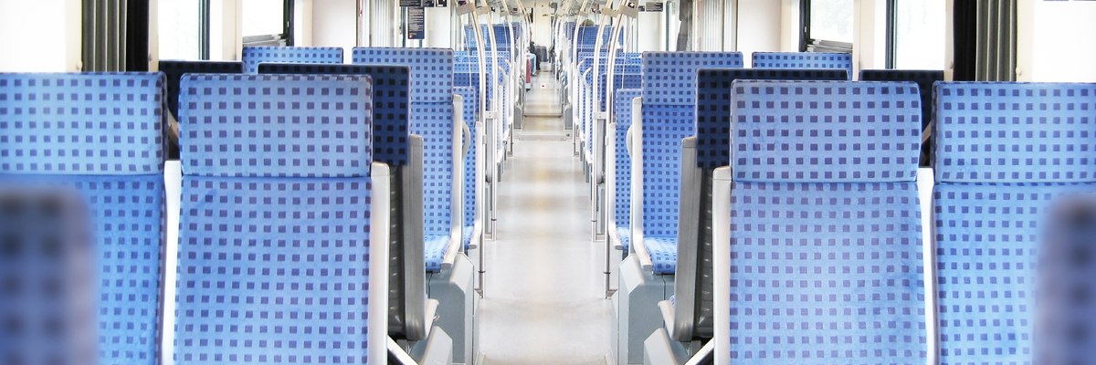 Rail vehicle interior