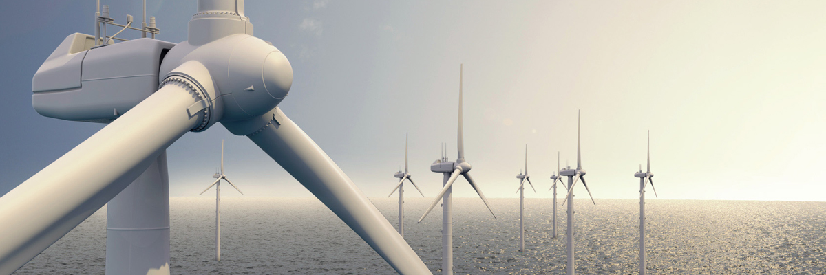 HellermannTyton also offers products for offshore turbines