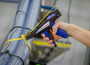Cable tie tensioning tools EVO9 | HellermannTyton