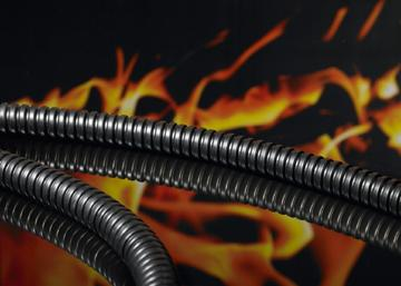 Metallic protective conduits non-metallic sleeve