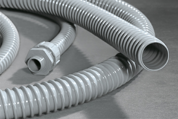 PVC protective conduits and fittings for the food industry