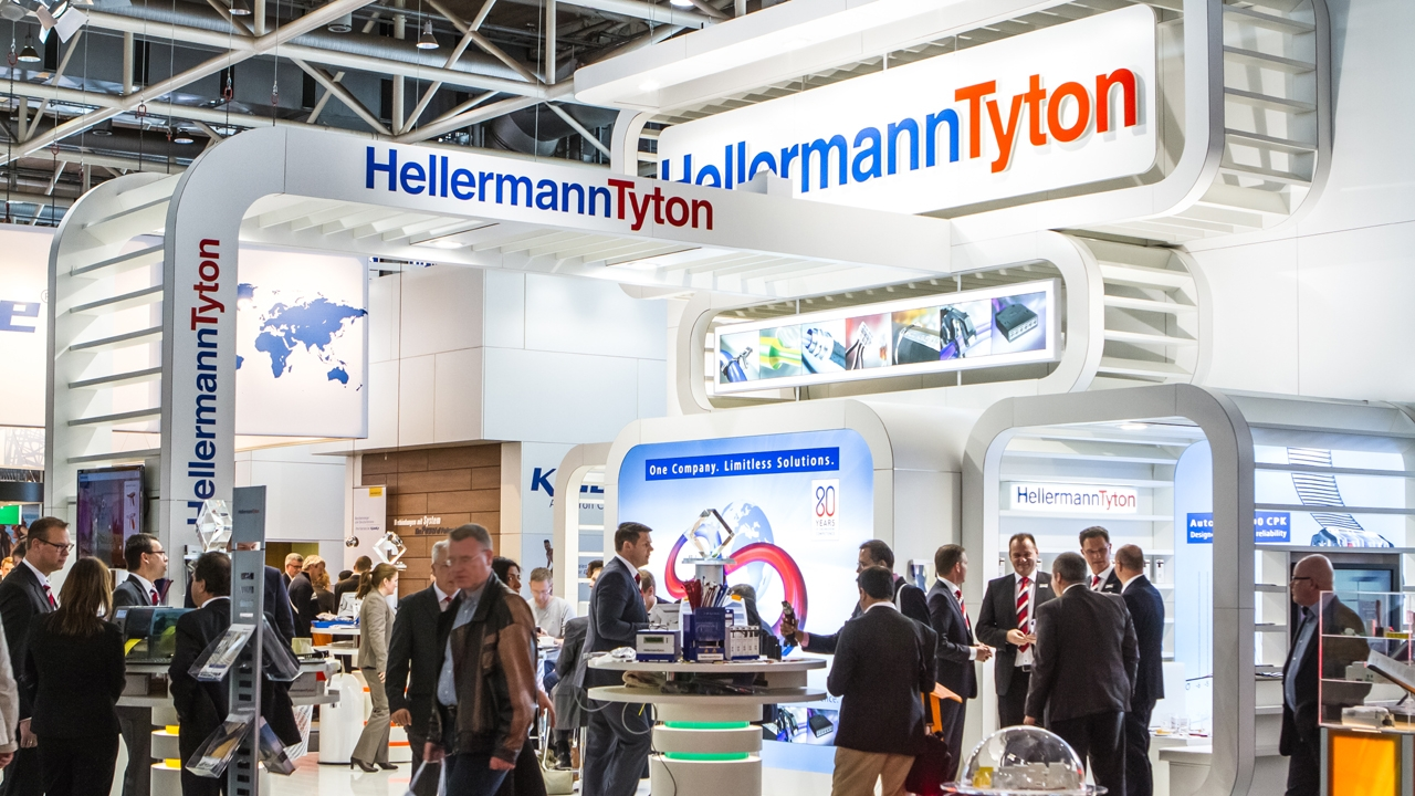 HellermannTyton - Exhibiting at industrial trade fairs around the world!