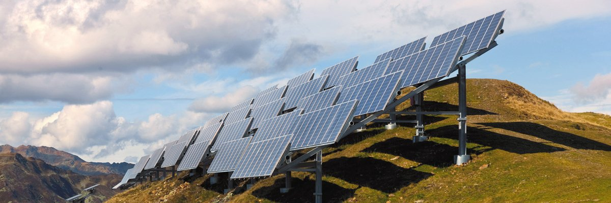 Solar plants: cable management & UV resistance | HellermannTyton
