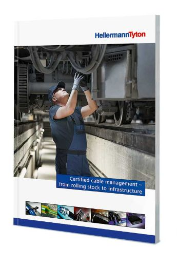 Picture of the cover of the new rail competence brochure 2019