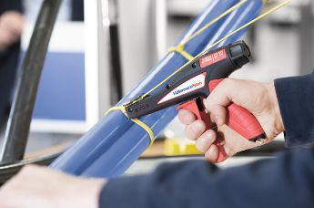 For plastic cable ties: EVO7 and EVO9 – precise, reliable tensioning and cutting
