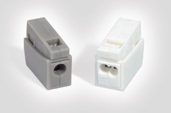 Push-in wire connectors for lighting installation