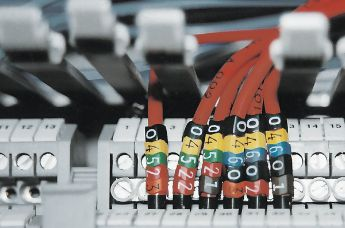 Fast and easy cable marking: with WIC pre-printed cable markers.