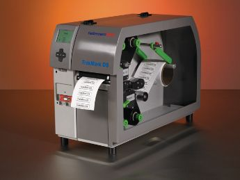 Industrial identification with thermal transfer printer, TrakMark DS, Double Sided