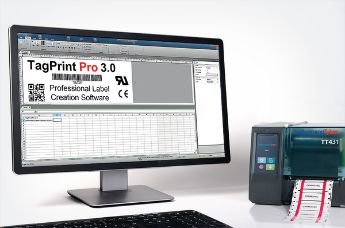 Print wire labels, cable labels and heat shrink wire labels on your own – with the printing software TagPrint Pro.