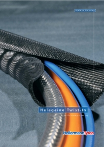 Cable Protection braided sleeving twist in cover
