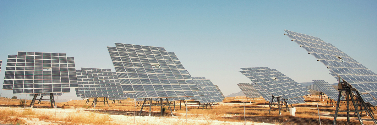 Identification systems for solar parks