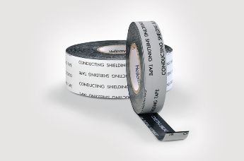 Self-amalgamating, conductive tape HelaTape Shield 310