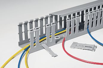 With the wiring ducts system solution HelaDuct the quality-conscious panel builder:
