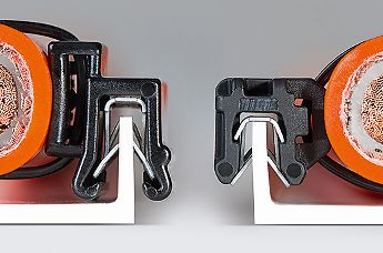 cable clips for low and narrow edges