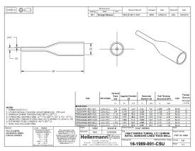 1 Stk Hellermann TREDUx HA47-33//8 Schrumpfschlauch 4:1 schwarz 321-50330