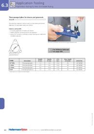 HellermannTyton K Sleeve Fitting Tool 621-80007 3 Pronged Expanding Pliers