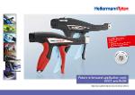 Brochure utensili installa fascette EVO7 e EVO9