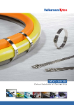 Edelstahlkabelbinder MST-Serie