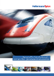 Strips og festemateriell for jernbaneindustrien