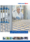 Næringsmiddelindustrien - sporbare produkter for installasjon i produksjonslinjer