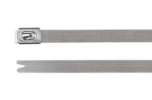 Stainless steel cable ties, uncoated, MBT_SS, MBT_HS.