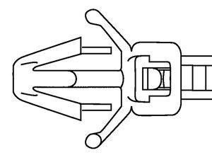 Een breed scala bevestigingsbanden met spreidanker, geschikt voor diverse plaatdiktes en gatdiameters.