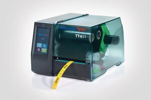 TT431 thermal transfer printer designed for ease of operation.