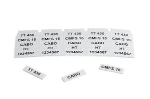 Etiquetas CMFS-15.