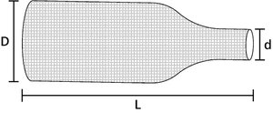 BHSS: Malla de poliéster termocontráctil.