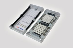 Zone Termination Box (ZTB) removable lid and fixing points