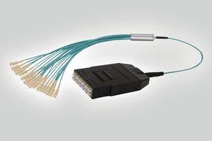 RapidNet LC 24C MM Cassette to SC Fan Out