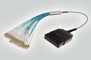 RapidNet MTP 6C Cassette to 72 LC Fan Out