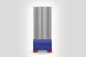 Unloaded Integrated Routing Module suitable for 30 SE or 60 SC Splice Trays.