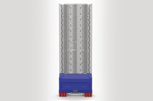 Unloaded Integrated Routing Module suitable for 36 SE or 72 SC Splice Trays.