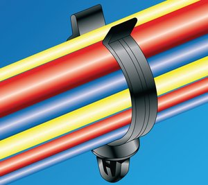 PC15FT7 for simple and secure installation of corrugated tubing.