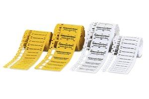 TAGUL – Kennzeichnungsschilder für Kabel und Leitungen.