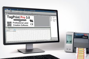The easy to use software speeds up production of markers, labels and identification tags.