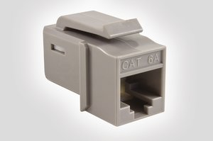 Category 6A UTP Jack in Grey