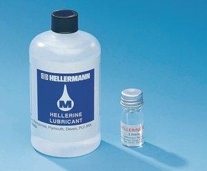 Hellerine Montagehilfe in der leichten Kunststoffflasche.