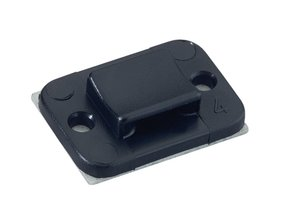 TY3 G1 TY3G1S Black  Fixing Cable Tie Screw Mount