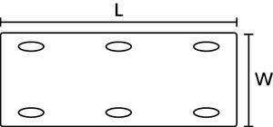TAGLF – weißes Kennzeichnungsschild mit geringer Brandgefahr.