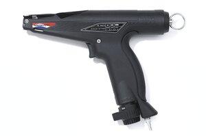 气动张紧工具 MK7P 适用于最大带体宽度为 4.8mm 的塑料扎带。